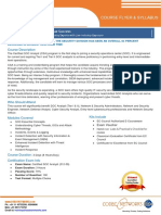 Certified SOC Analyst (CSA) Flyer