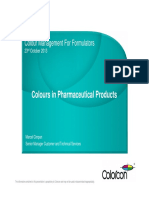 Colour in Pharmaceutical Products