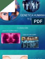 Genetica y Clonacion