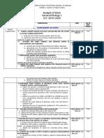 Budget-Of-work-gen Bio 1 2nd Qtr