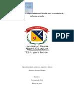 concecuencias del posconflicto en colombia para la sociedad civil y las fuerzas armadas.pdf