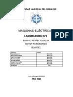 Laboratorio N° 4 - Máquina Asíncrona  2019