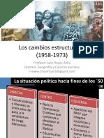 Chile1958 1973 Cambiosestructuralesyquiebredemocrtico 121118090823 Phpapp02 Archivo