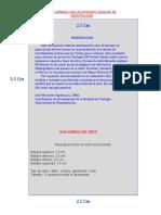 Guía general para el formato de trabajos de investigación UM