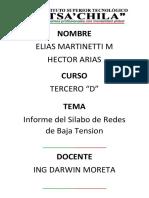 Redes de Baja Tension 3d