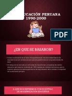Educación peruana 1900-2000