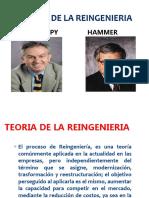 Teoria de La Reingenieria Hammer y Champy