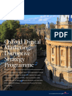 Oxford Digital Marketing Programme Prospectus