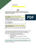 Equilibrio Ácido-base Resumen
