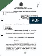 Açao  da Anhanguera Distribuida a 15 Vara Federal
