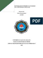 Analisis APBD Kab Banyuwangi