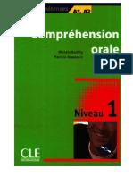 Comprehension Orale 1 a1 a2