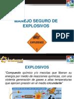 Manejo Seguro de Explosivos