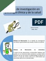 Metodos de investigacion en psicologia clinica y de la salud