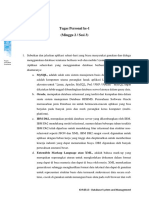 Database System and Management TP1 (2201838771 - Wahyu Budhi Prabowo)