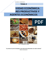 Unidad 2. Factores,  Agentes y sistemas económicos
