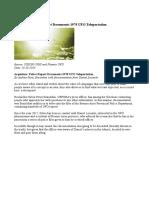 Argentina Police Report Documents 1978 UFO Teleportation