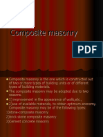 Composite Masonry