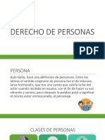 1. Derecho de La Persona