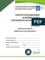 Primera Prueba de Avance de Ciencias Naturales-Primer Año de Bachillerato 2019.pdf