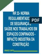 NR33 obras