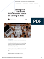 Are You Getting Paid Enough_ This is How Much Filipinos Should Be Earning in 2017