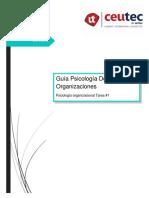 Guía Psicología De Las Organizaciones