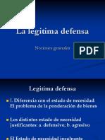 La Legitima Defensa