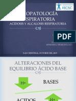 Acidosis y Alcalosis Resp