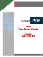Combinaciones de Carga segun ACI 318-08.pdf