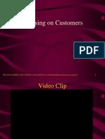 Focusing on Customers