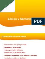 Lexico y Semantica
