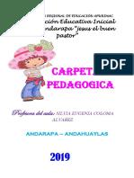 CARPETA ANDARAPA 2019