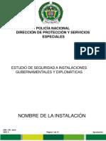 2pr-Fr-0013 Estudio de Seguridad a Instalaciones Gubernamentales y Diplomáticas