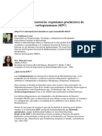 Klebsiella pneumoniae VIH resistente