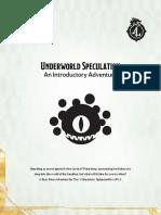 DDIA-XGE - Underworld Speculation