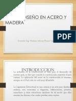Clase_01- Diseño en Acero YMadera