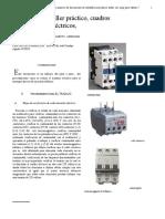informe montaje electrico arranque directo motor trifasico 1.doc