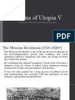 Mexican revolution and surrealism