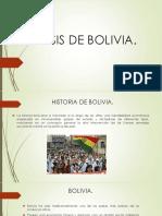 Crisis de Bolivia