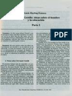 Giovanni Gentile ideas sobre el hombre y la educacion.pdf