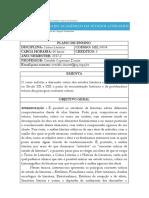 PLANO de ENSINO Critica Literaria 2017 136110482