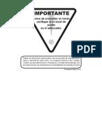 Manual de Garantia y Mantenimiento Street Alta Gama
