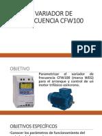 Variador de Frecuencia CFW100