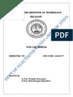 Vlsi Labmanual Cbcs Scheme 2018