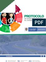 Protocolo de Atención Al Ciudadano 2019 - Ministerio de Transporte