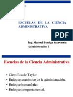 Escuelas de La Ciencia Administrativa- Clase 2 1