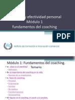 IFIC Modulo 1 Curso Coaching y Efectividad Personal