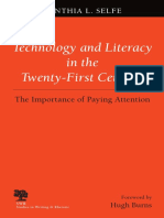 (Studies in Writing & Rhetoric) Cynthia L. Selfe - Technology and Literacy in the 21st Century_ the Importance of Paying Attention-Southern Illinois University Press (1999)