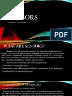 Sensors Presentation
